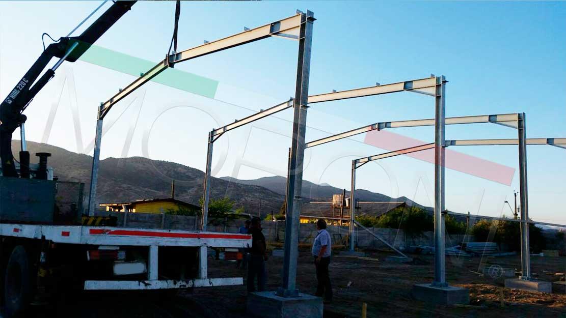 Construccion de galpones metalicos for Construccion de galpones