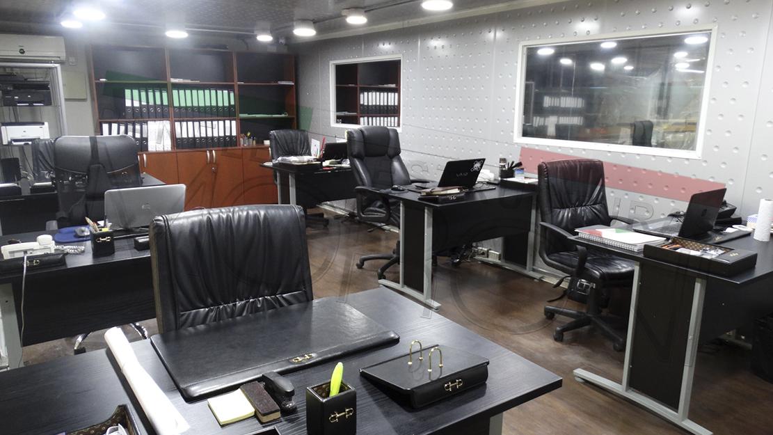 Modulos oficinas armables for Oficinas modulares
