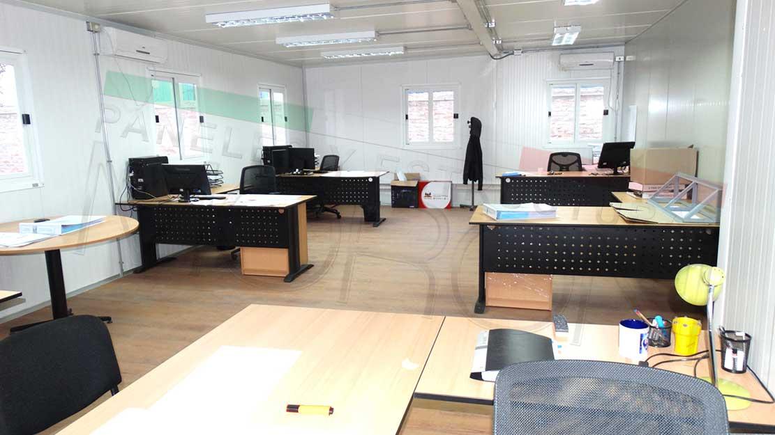 Modulos oficinas armables for Modulos para oficina