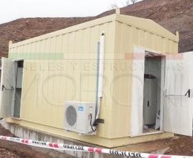 Salas eléctricas modulares Moroni