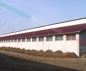 Construcción con cubierta Agropanel