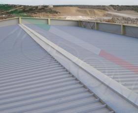 Construcción con cubierta Penta WR