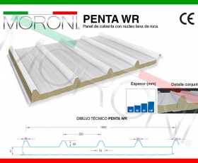 panel lana de roca PENTA WR - Ficha técnica