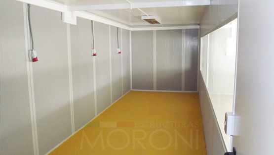 Salas Acusticas Modulares Moroni