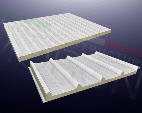 Soluciones Modulares - Panel lana de roca