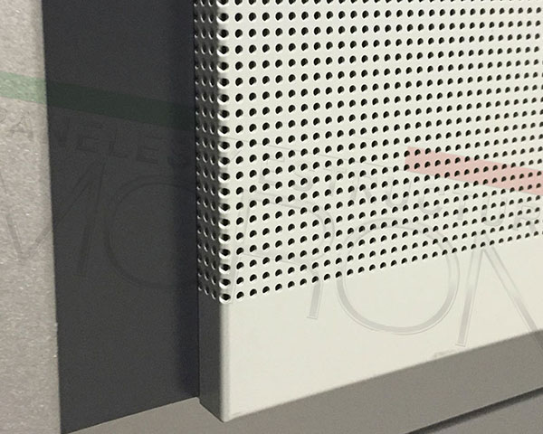 Soluciones Modulares - Paneles Acusticos Microperforados