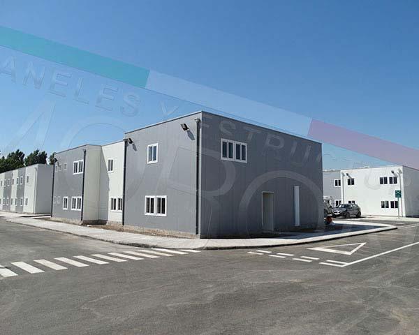 Construcción con paneles prefabricados en chile - Edificio Modular