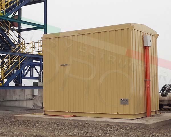 Construcción con paneles prefabricados en chile - Salas Electricas Modulares