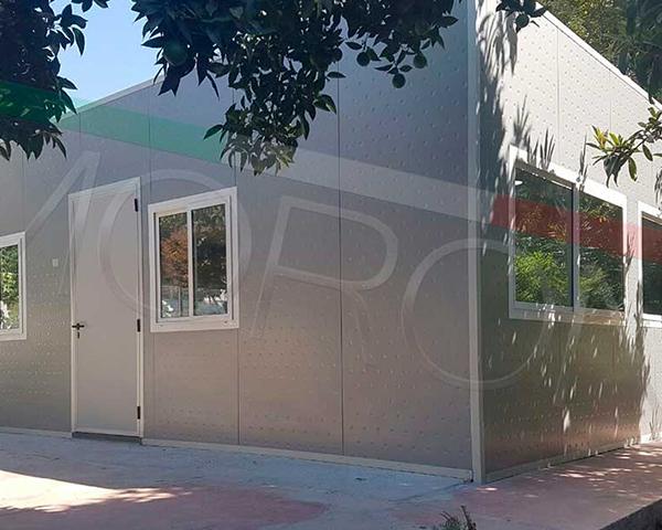 Construcción con paneles prefabricados en chile - Oficinas Modulares