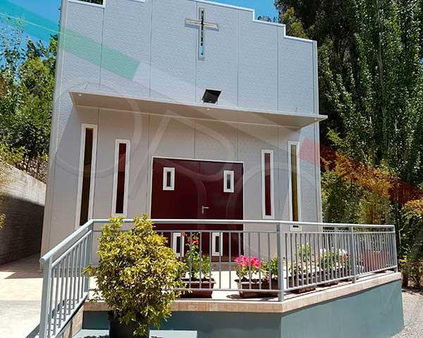 Construcción con paneles prefabricados en chile - Capilla Arquitectonica