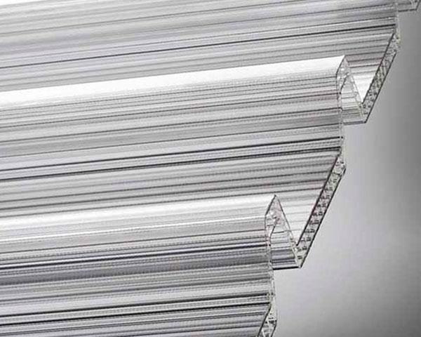 Tipos de paneles de policarbonato para la construccion