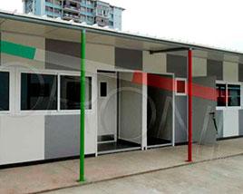 paneles aislantes en chile - Salas de clases modulares