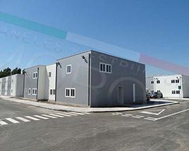 construccion con paneles prefabricados en chile - Edificio Modular