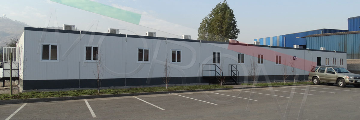 instalacion de faenas prefabricadas modulares