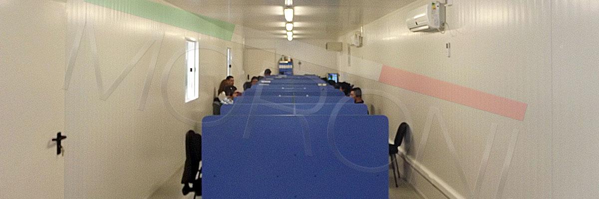 sala de capacitacion modular