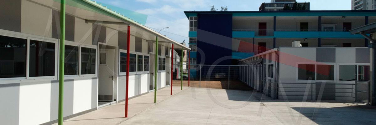 colegios prefabricados