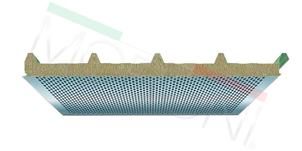 Paneles aislantes en stock - cubierta acustica PENTA WA 50/90mm