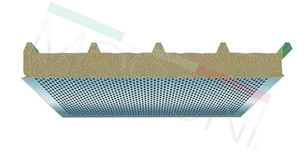 Paneles aislantes en stock - Cubierta Acústica PENTA WA 80/120mm