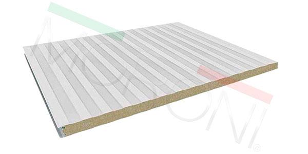 Paneles aislantes en stock - Panel lana de roca MEC WR 50mm