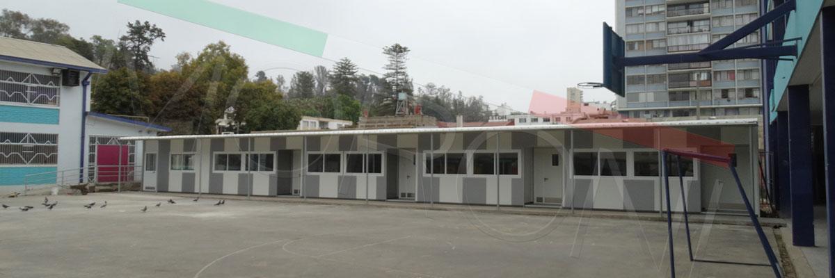 cotizacion colegios modulares prefabricados