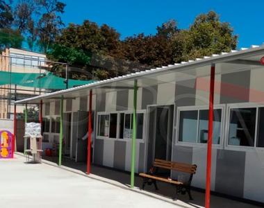 Construcción modular de jardín infantil