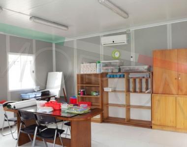 Construcción en seco de Salas de profesores modulares