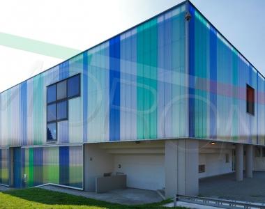 Construcciones con paneles de policarbonato