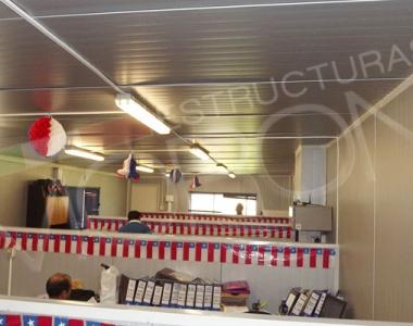 Oficina modular prefabricada