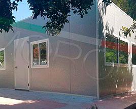 Paneles y Estructuras Moroni - Oficinas Modulares