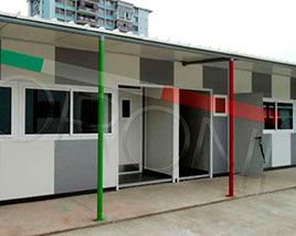 Paneles y Estructuras Moroni - Salas de clases modulares