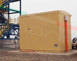 Paneles y Estructuras Moroni - Salas Electricas Modulares