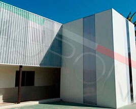 Paneles y Estructuras Moroni - Revestimiento Arquitectonico