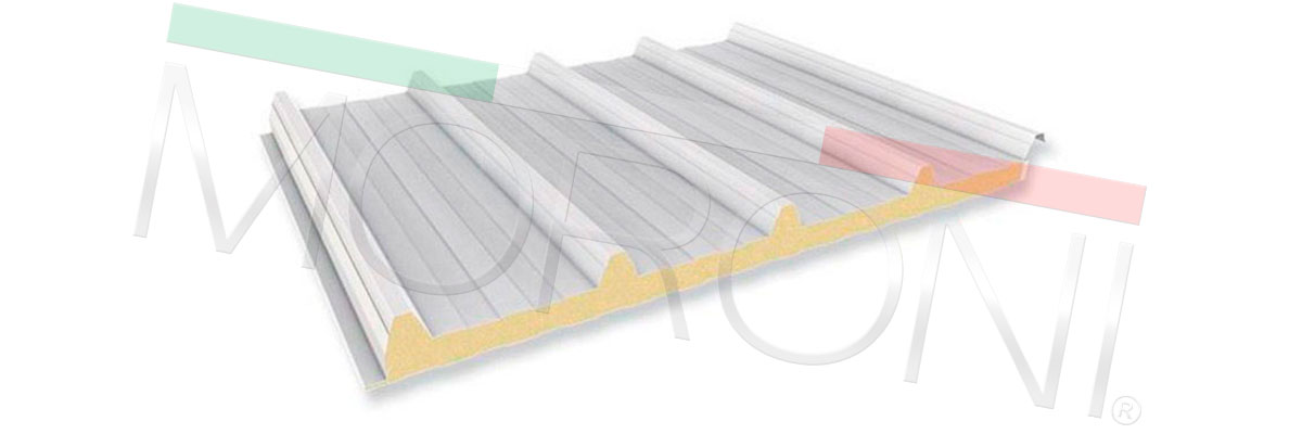 Panel de cubierta poliuretano PENTA