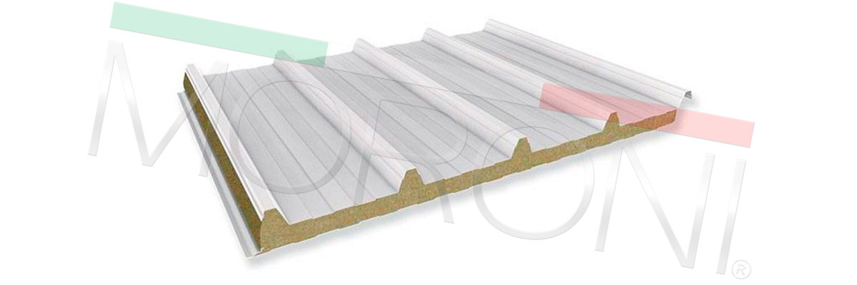paneles de cubierta cortafuego