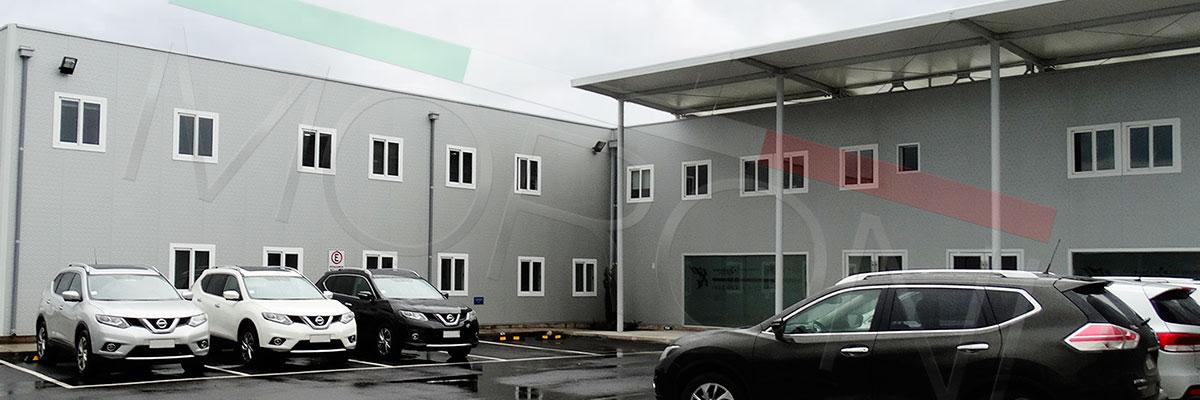 edificio modular corporativo prefabricado