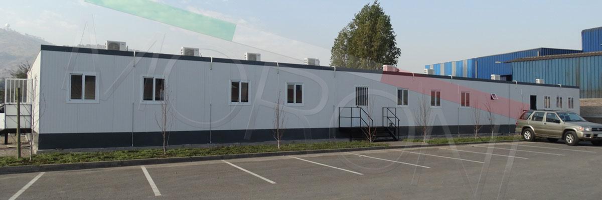 Salas de reuniones y oficinas modulares comerciales