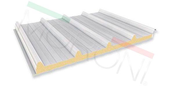 Paneles aislantes en stock - Cubierta poliuretano PENTA