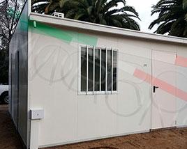 Paneles y Estructuras Moroni - Enfermeria modular