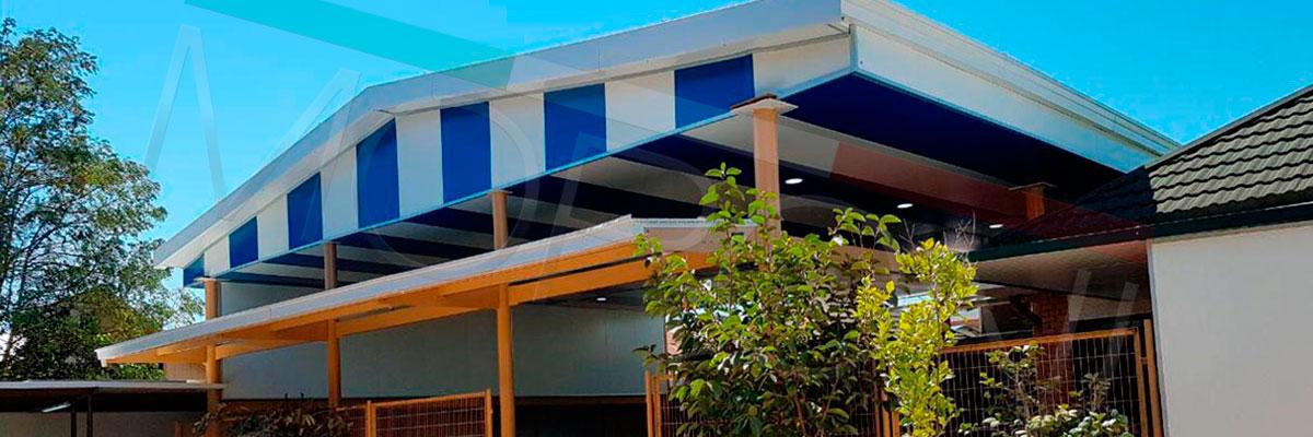 cubierta patio interior